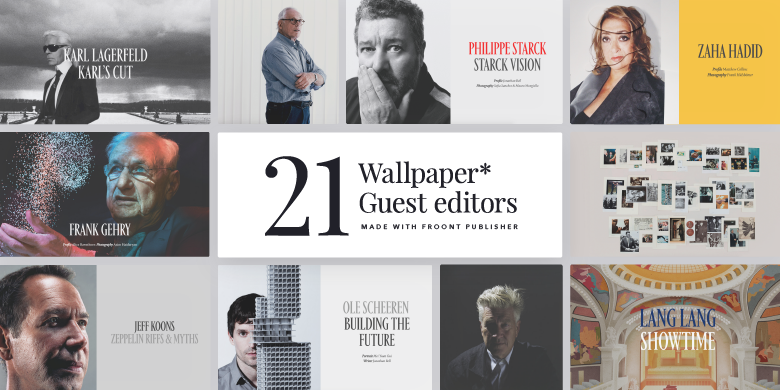 Case study: Wallpaper* magazine creates its largest ever digital publication using Froont Publisher